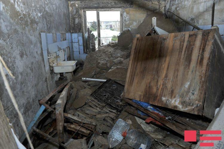 Bakıda tikilməkdə olan bina niyə uçdu? – Ekspert