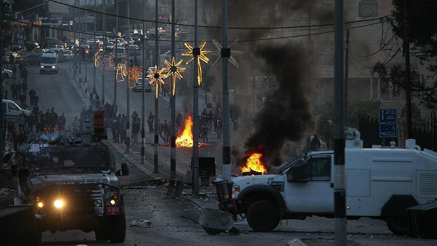 Израиль применил боевые пули против палестинцев