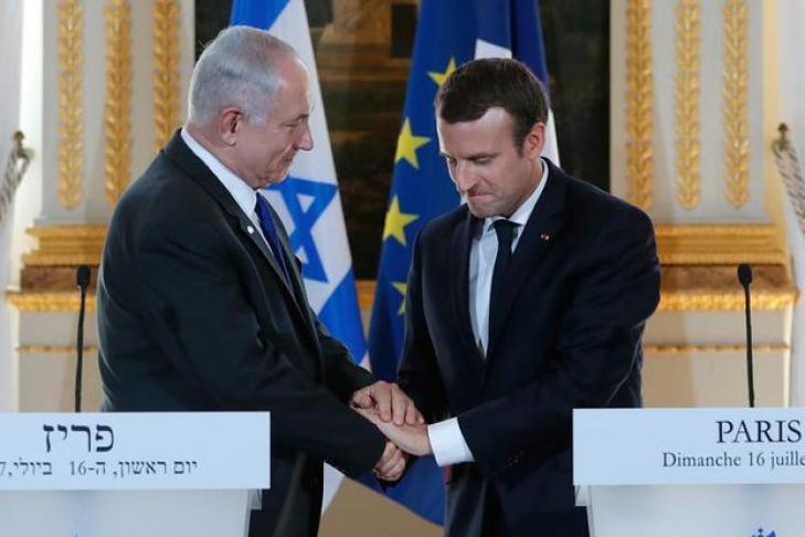 Макрон призвал Нетаньяху прекратить колонизацию