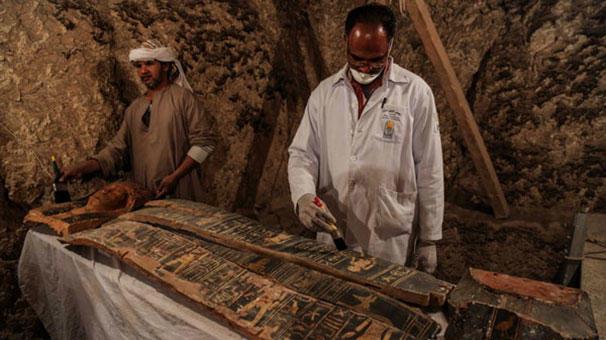 مصرده تاریخی تاپیندی: ایکی فیرعونون مزاری... - فوتو