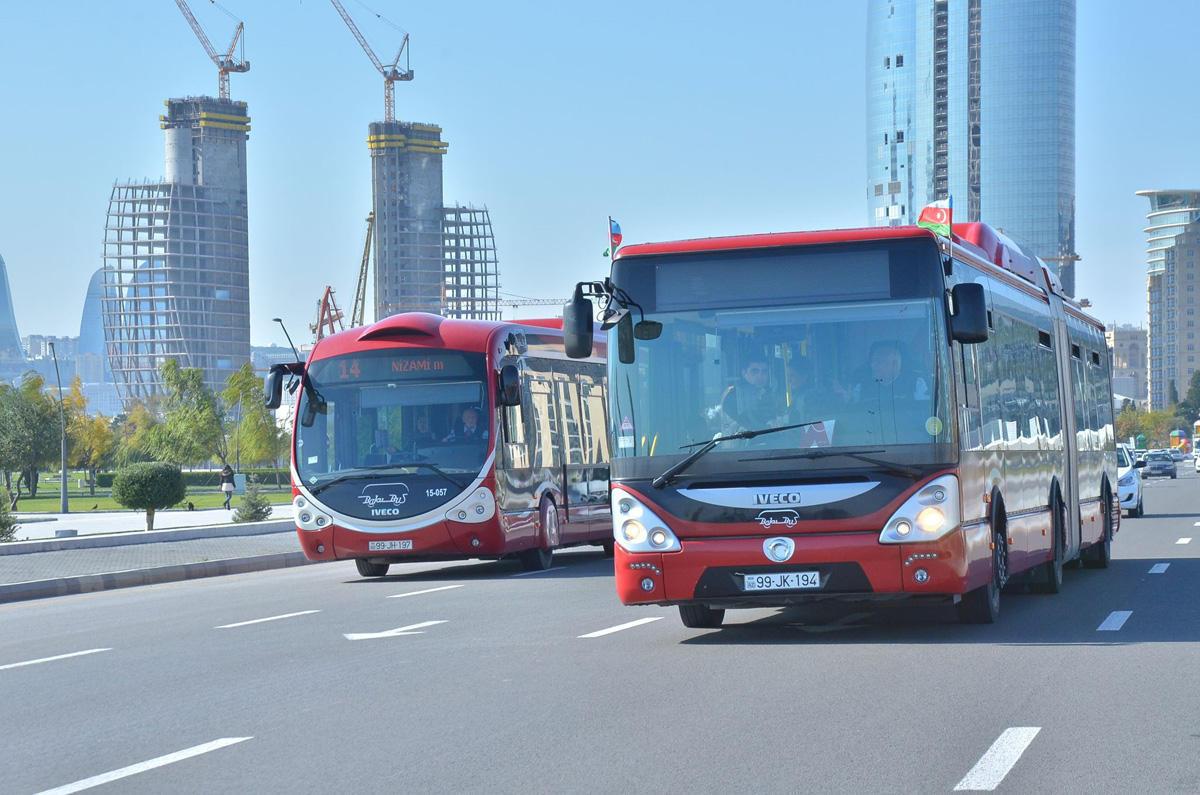 Bu avtobusların hərəkət sxemi dəyişdirildi
