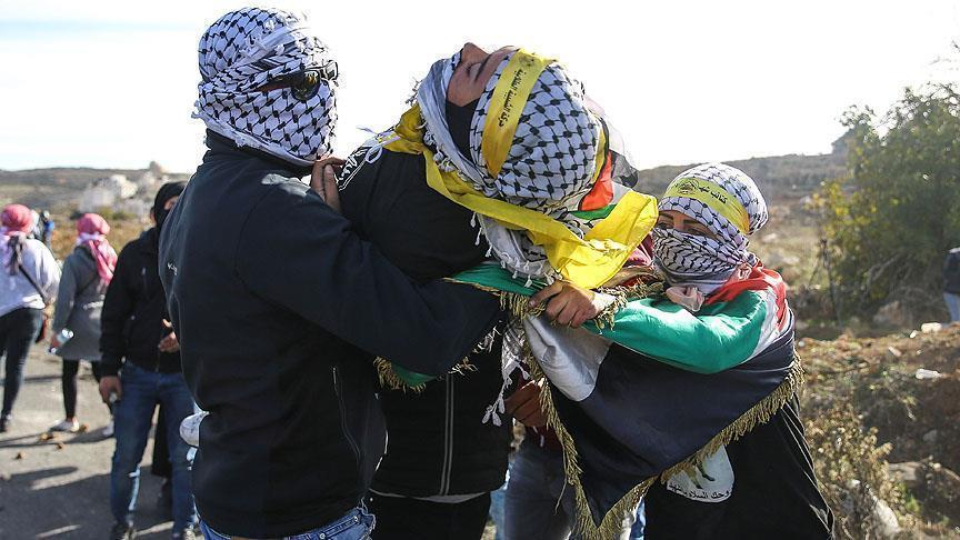 Израильские солдаты ранили 30 палестинцев