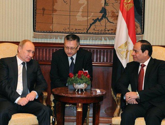 Путин в Египте сделал заявление по Иерусалиму