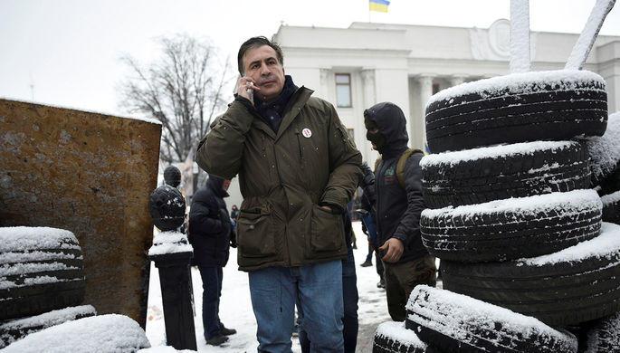 Саакашвили пообещал показать, как умрет президент