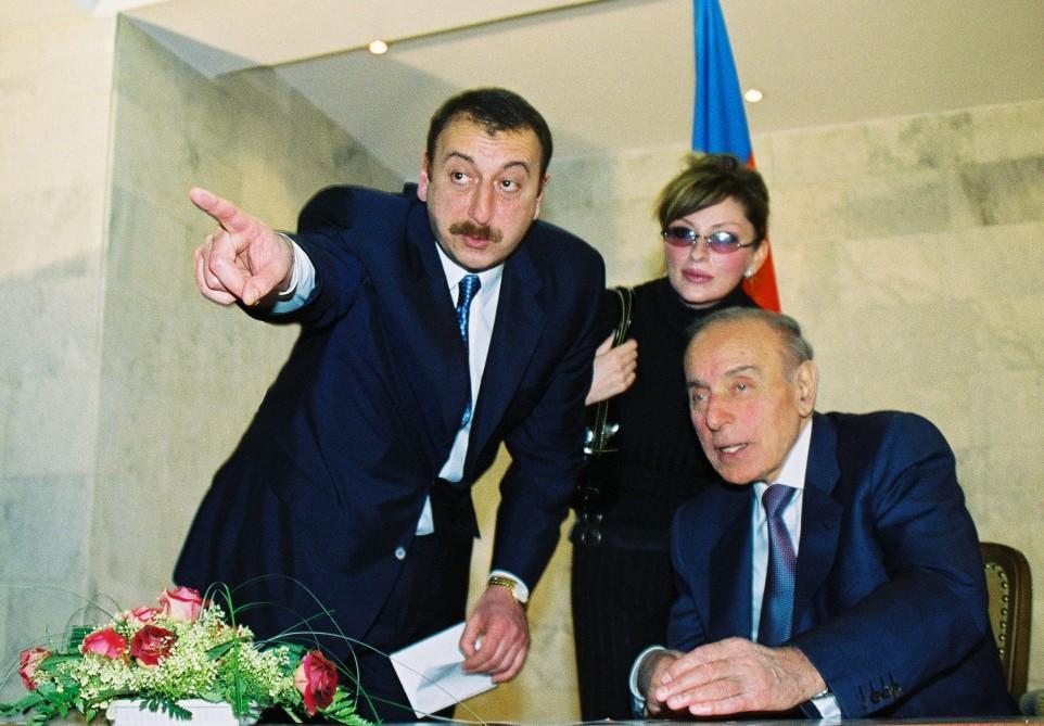 Heydər Əliyevin əsəbi halda Kazimirova Qarabağ sözü...