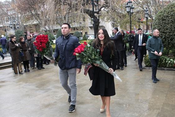 Leyla Əliyevanın babası ilə bağlı paylaşımı - Foto