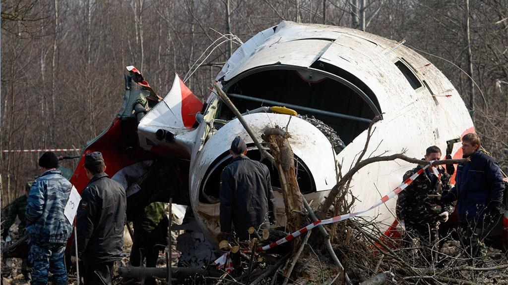 Польша нашла доказательства взрывов на борту Ту-154М