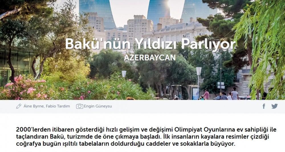 Bakı Qafqazın ən gözəl şəhəridir - Skaylayf
