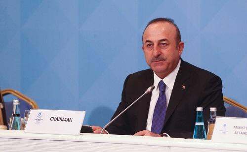 Chavusoglu's statement: We have determined the course