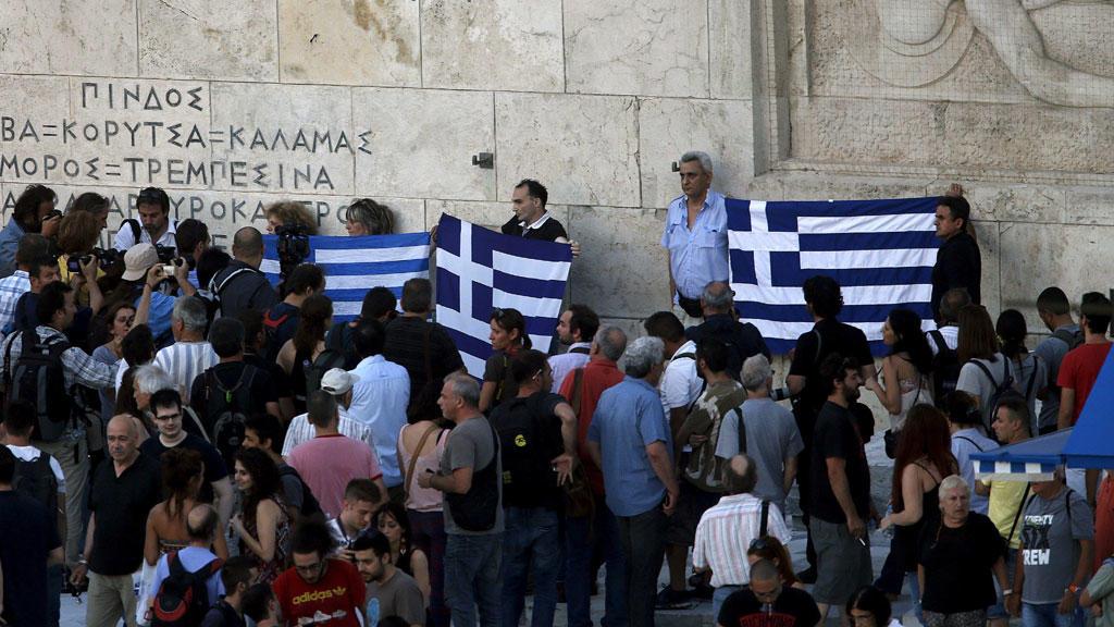 Всеобщая забастовка парализовала Грецию