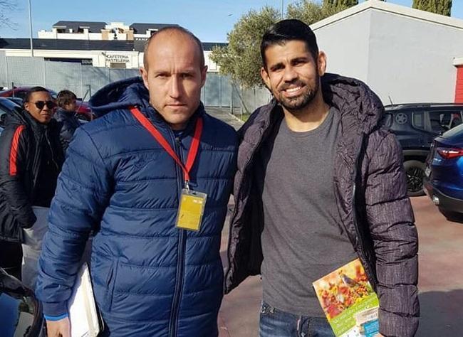 """""""Sumqayıt""""ın baş məşqçisi Dieqo Kosta ilə birgə - Foto"""