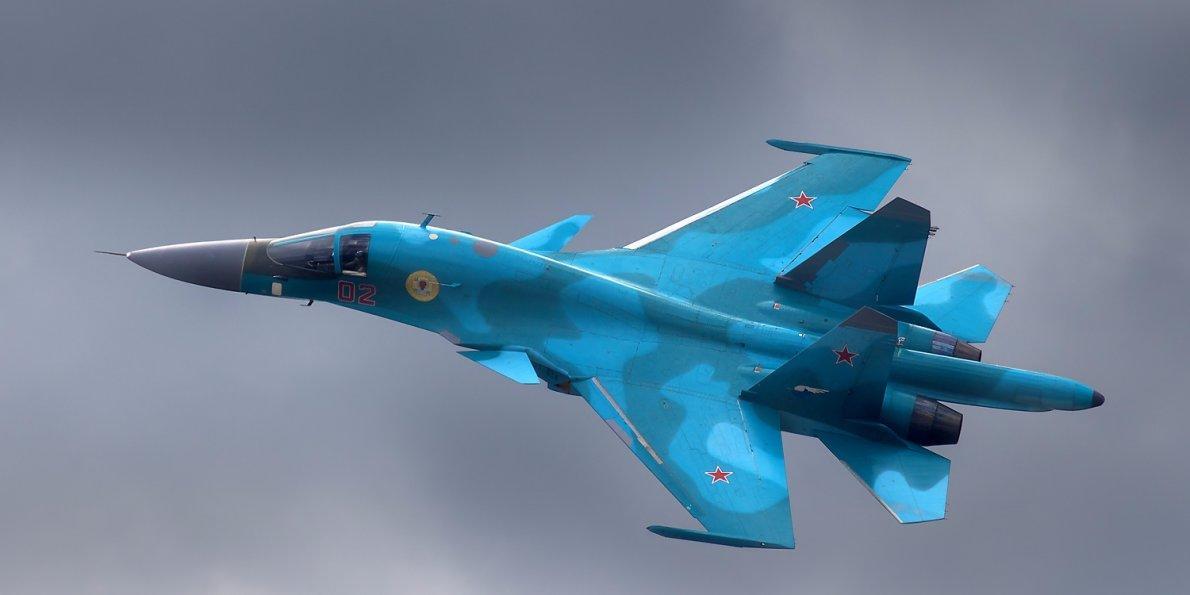 Rusiyada dəhşətli qəza: İki Su-34 toqquşdu