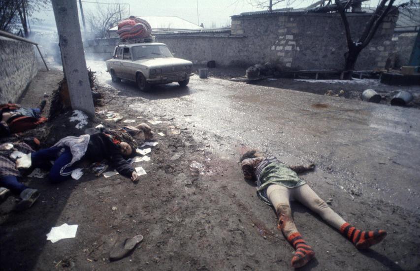 اونلار اللهلاریندان کؤمک ایستییردی، اونلارین اللهی دا بیزدن قورخوردو - ارمنی عسکری