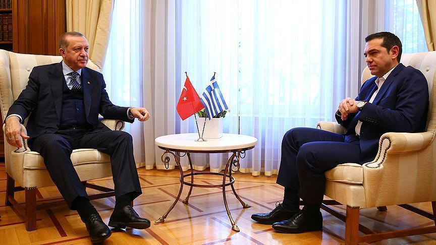"""Эрдоган и Ципрас """"перезагрузили"""" отношения"""