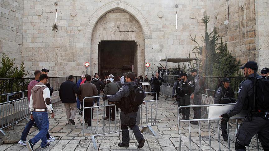 В центре Иерусалима установили металлические барьеры