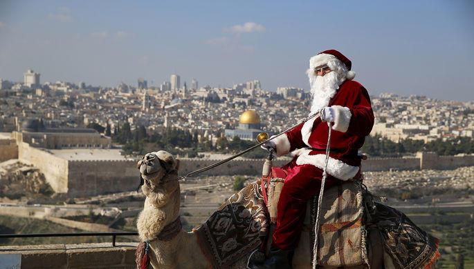 Трамп оставил родину Христа без Рождества