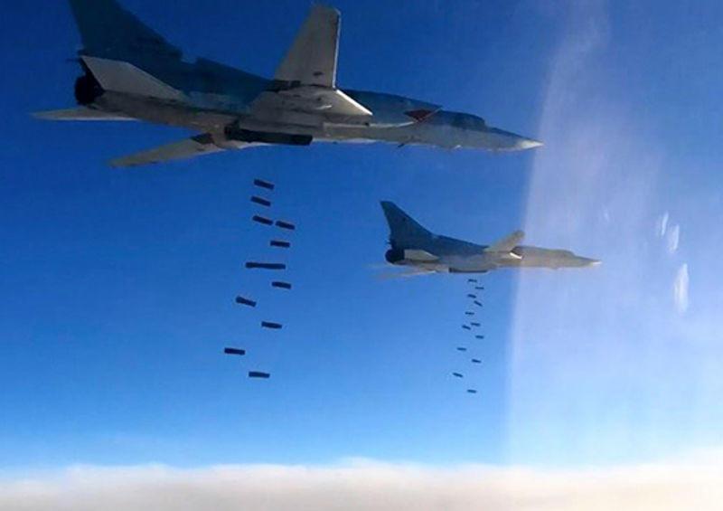 ABŞ qırıcılarından səhv: kürd qruplaşmasını bombaladı - 6 ölü