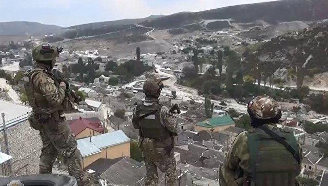 آذربایجانلا سرحدده عملیات: ترورچولار محاصرهده