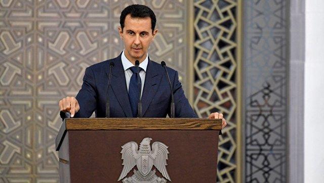 Асад назвал условия завершения войны в Сирии