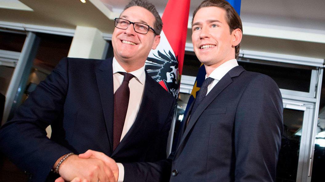В Австрии к власти пришли друзья Путина