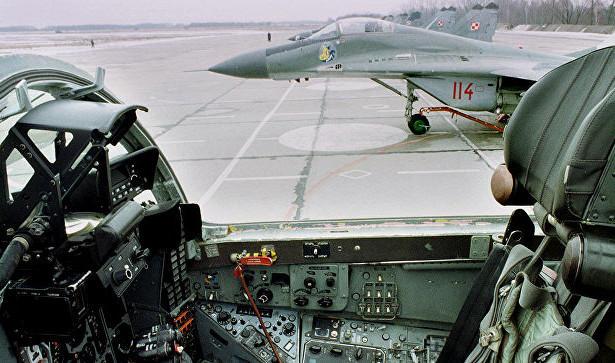 Истребитель ВВС Польши МиГ-29 пропал с радаров