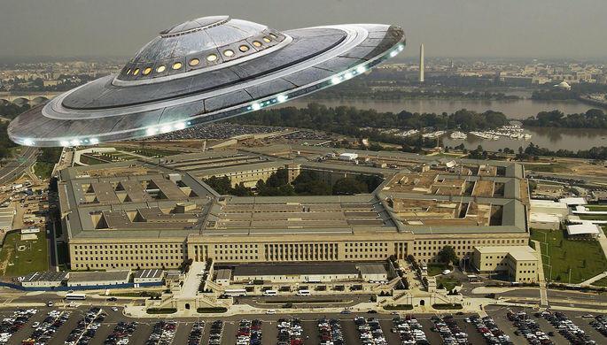США рассекретили видеозапись НЛО 2014 года
