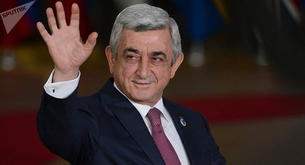 """Sad and depressed"" Sargsyan fled Yerevan"