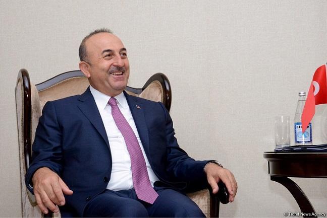 Çavuşoğlu İraq prezidenti ilə qapalı görüş keçirdi