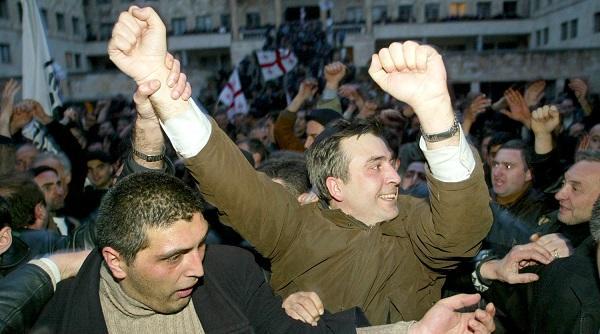 Сторонники Саакашвили начали пикет у дома генпрокурора