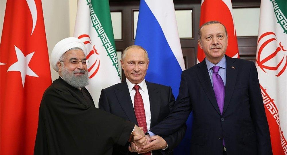 Russia, Turkey and Iran leaders meet in Ankara
