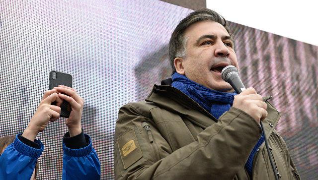 Saakaşvili Poroşenkonun uduzmasını belə qeyd etdi – Video
