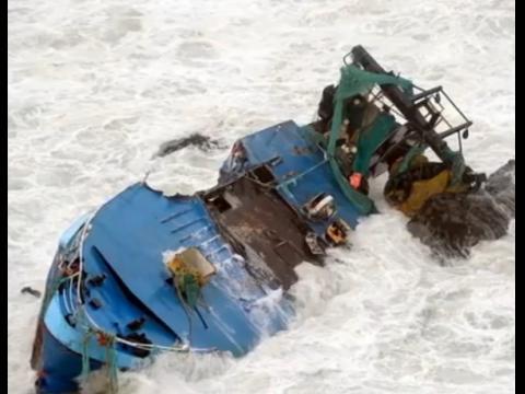 У берегов Китая затонуло судно, семь жертв
