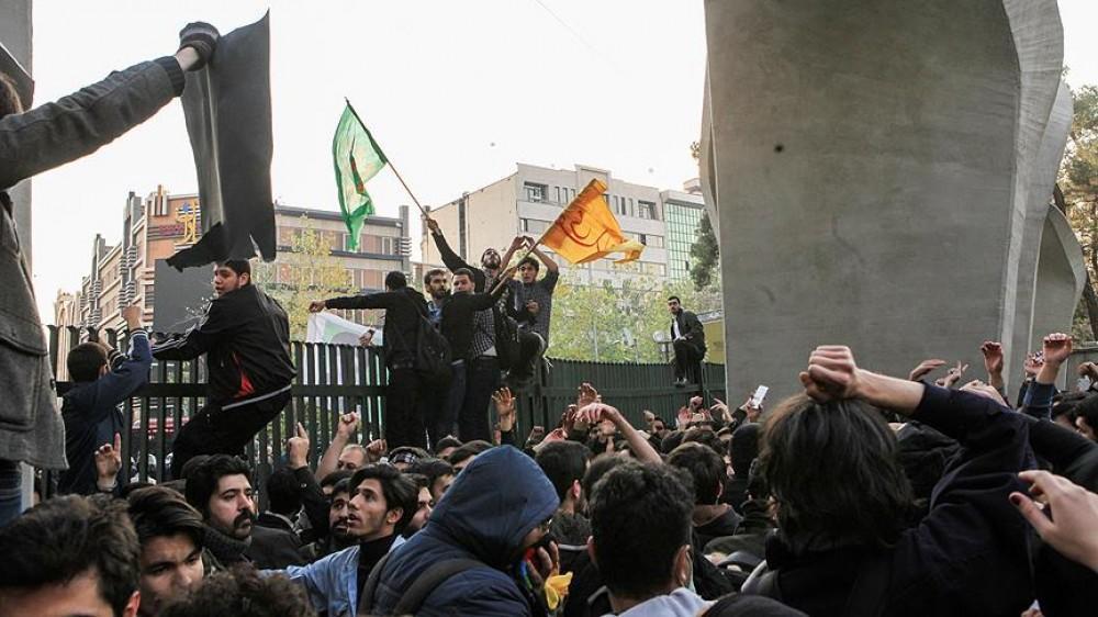 İranda aksiya: saxlanılanlar var