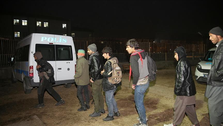 Nearly 240 undocumented migrants held across Turkey