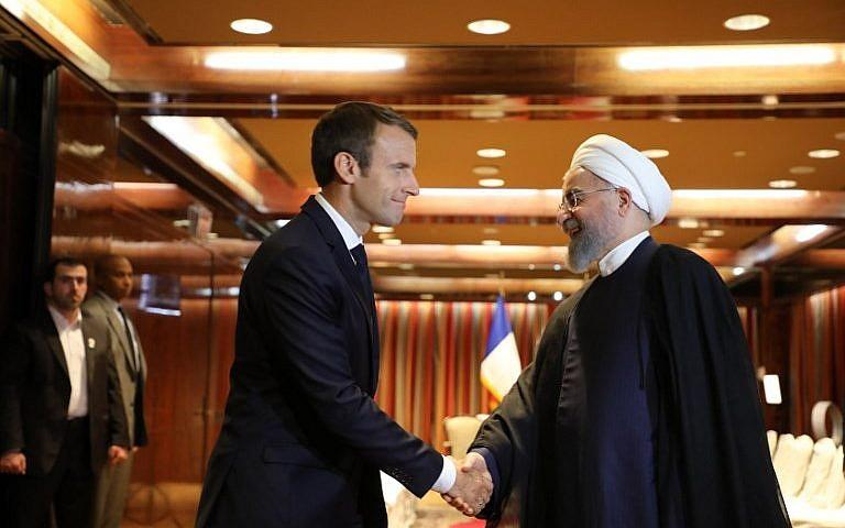Iranian, French presidents discuss Lebanon on the phone