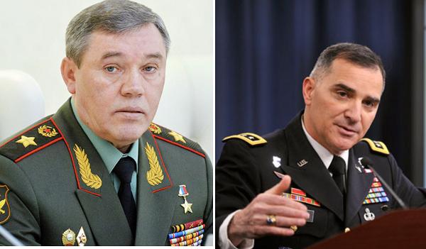Герасимов и Скапарротти провели встречу в Баку