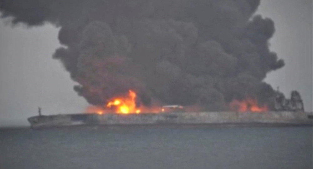 The blast causes damage to an oil tanker off Saudi Arabia