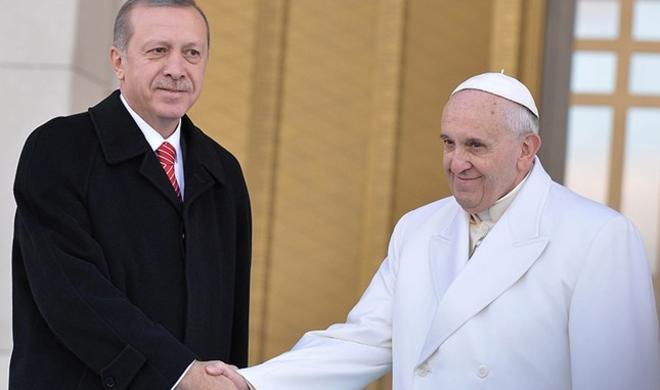 President Erdogan to meet Pope in February
