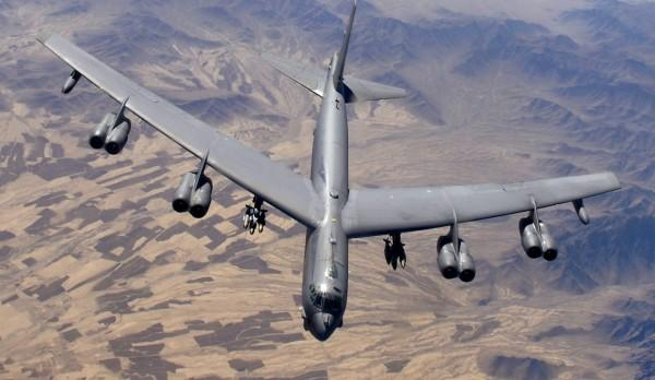 Demonstration: The US sent B-52s to the Iranian border