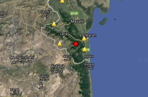 В Лерике произошло землетрясение