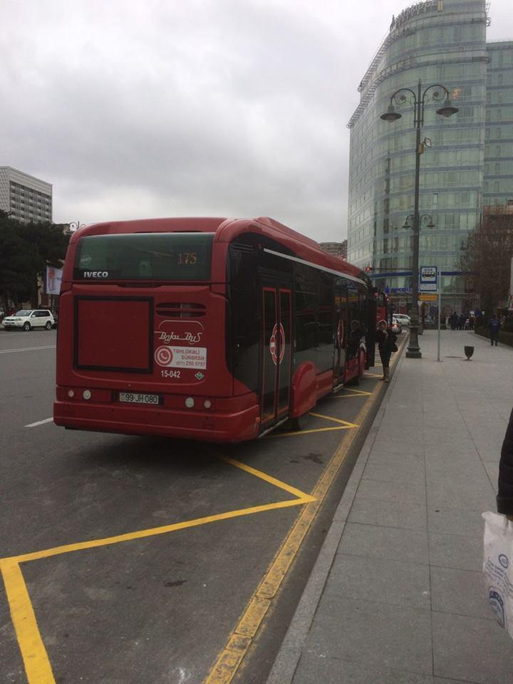 Qaydanı pozan sürücü işdən çıxarıldı, avtobus isə... - BNA