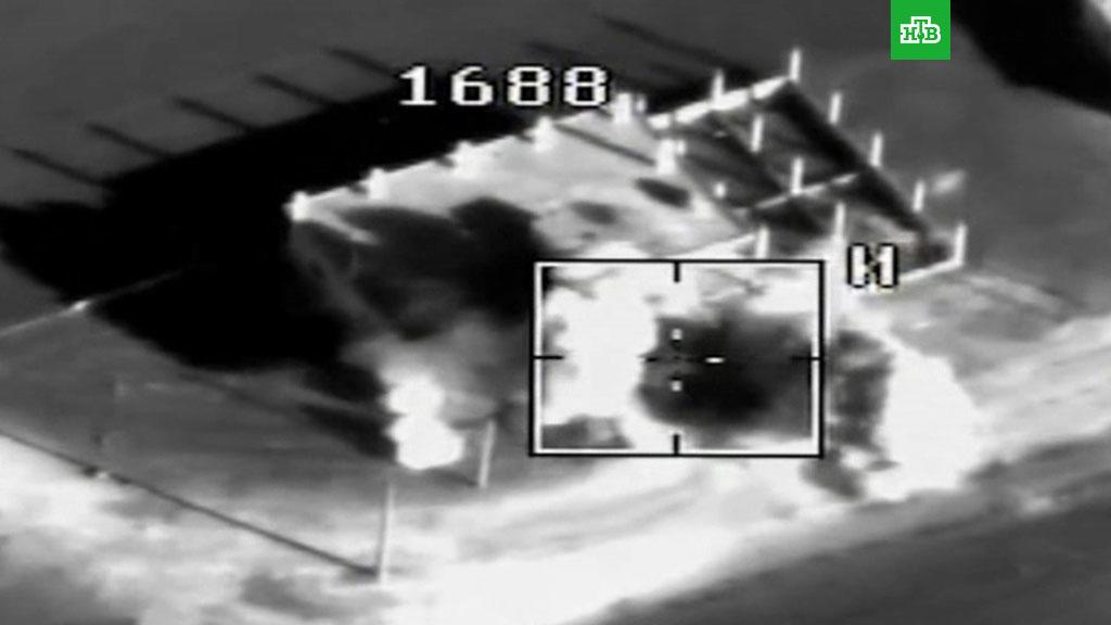 Rusiya Suriyada naməlum uçan aparatları vurdu