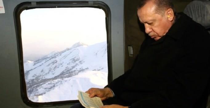 Самолет Эрдогана не смог приземлиться в Орду