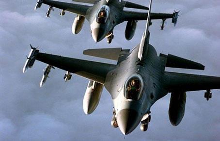 Türkiyə F-16-ları havaya qalxdı:
