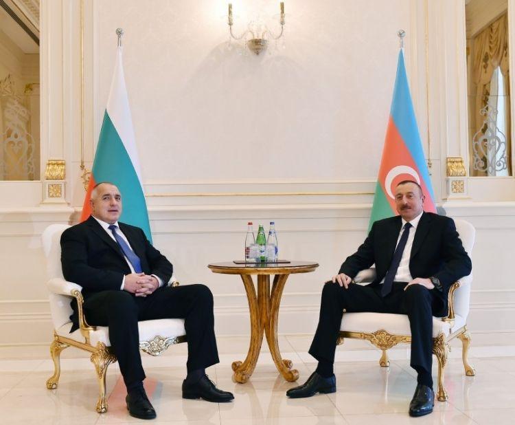 Azerbaijani president, Bulgarian PM make press statements