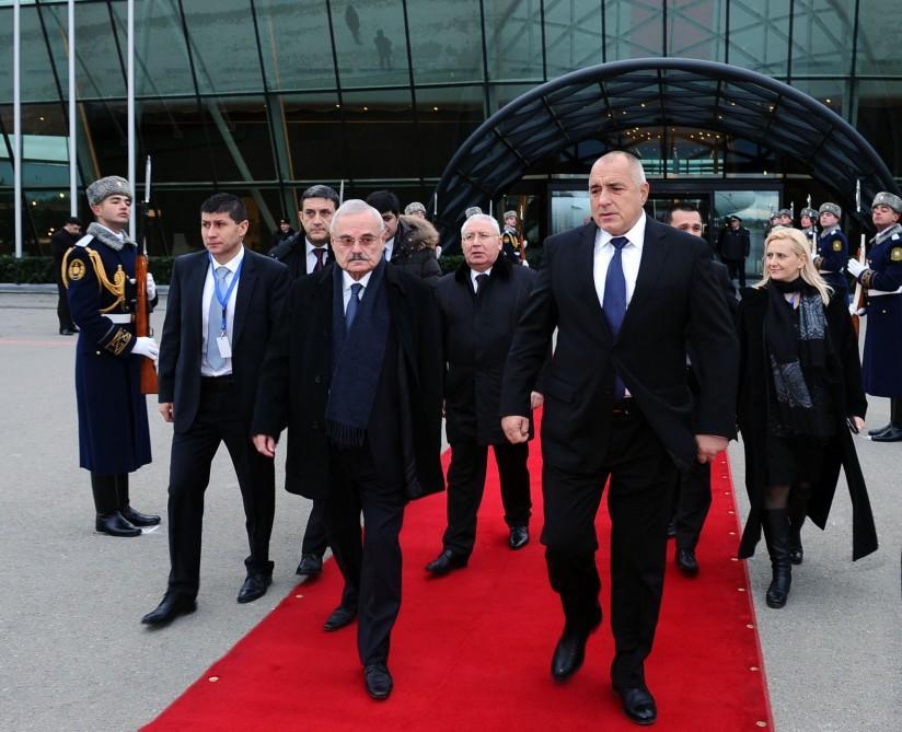 Bulgarian PM ends Baku visit
