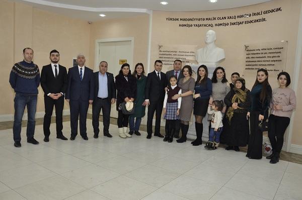 Milli Qəhrəmanlarımız haqda filmlər təqdim edildi - Foto