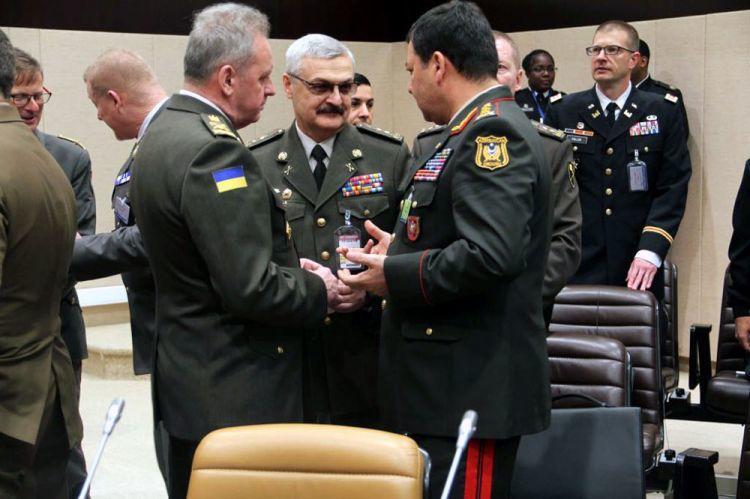 Неджмеддин Садыков на совещаниях НАТО - Фото