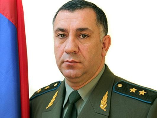 Erməni generalın oğlu qəzada öldü