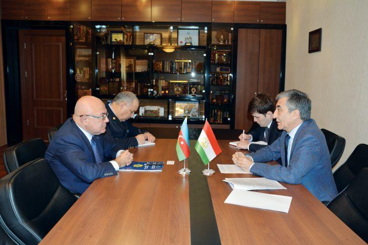 DGK sədri Tacikistan səfiri ilə görüşdü